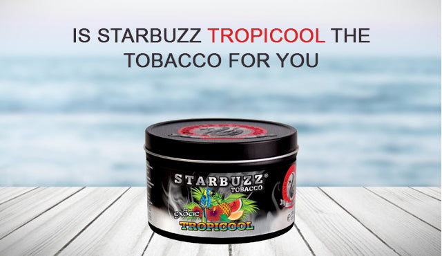 Is Starbuzz Tropicool THE Tobacco for You