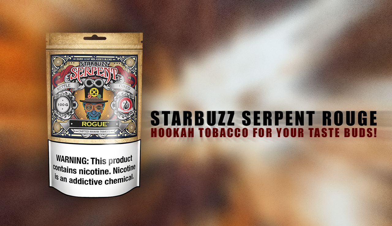 Starbuzz Serpent Rouge Hookah Tobacco for Your Taste Buds!
