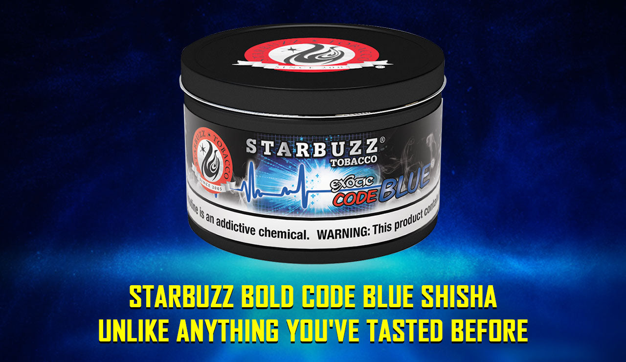 Starbuzz Bold Code Blue Shisha: Unlike Anything You've Tasted Before