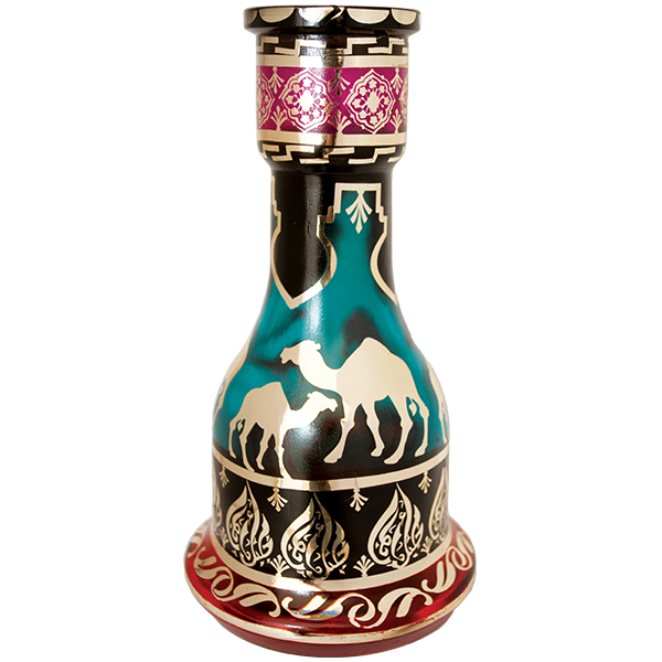 Egyptian Exotic Hookah Glass