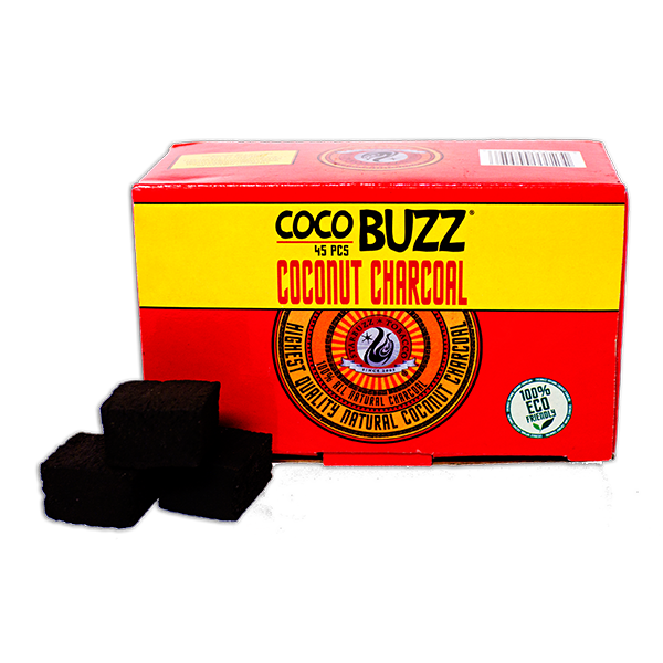 CocoBuzz Coconut Charcoal 45pc