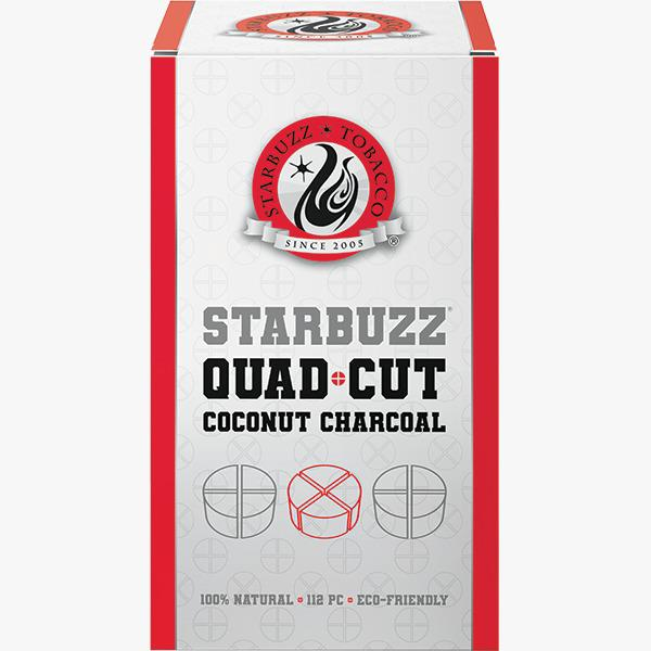 Starbuzz Quad Cut Coconut Charcoal (Wholesale)