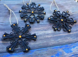 Halloween Themed Snowflakes