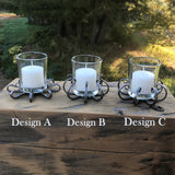 Draft Horse Nail Votive Holders