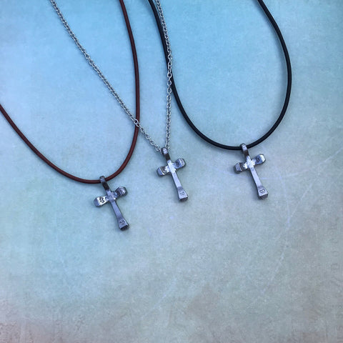 Classic Mini Cross Necklace