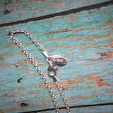 Sterling Draft Nail Necklace