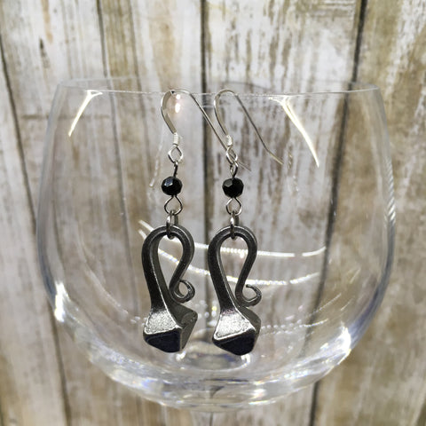Mud Nail Beaded Earrings