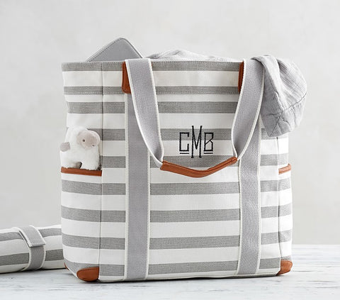 14.striped-harper-diaper-totes-mom gift maternity nursing