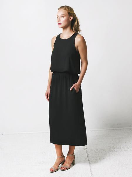 Gaia Dress / Black