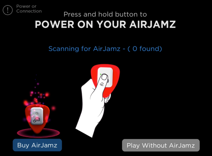 Connect AirJamz Airaoke App