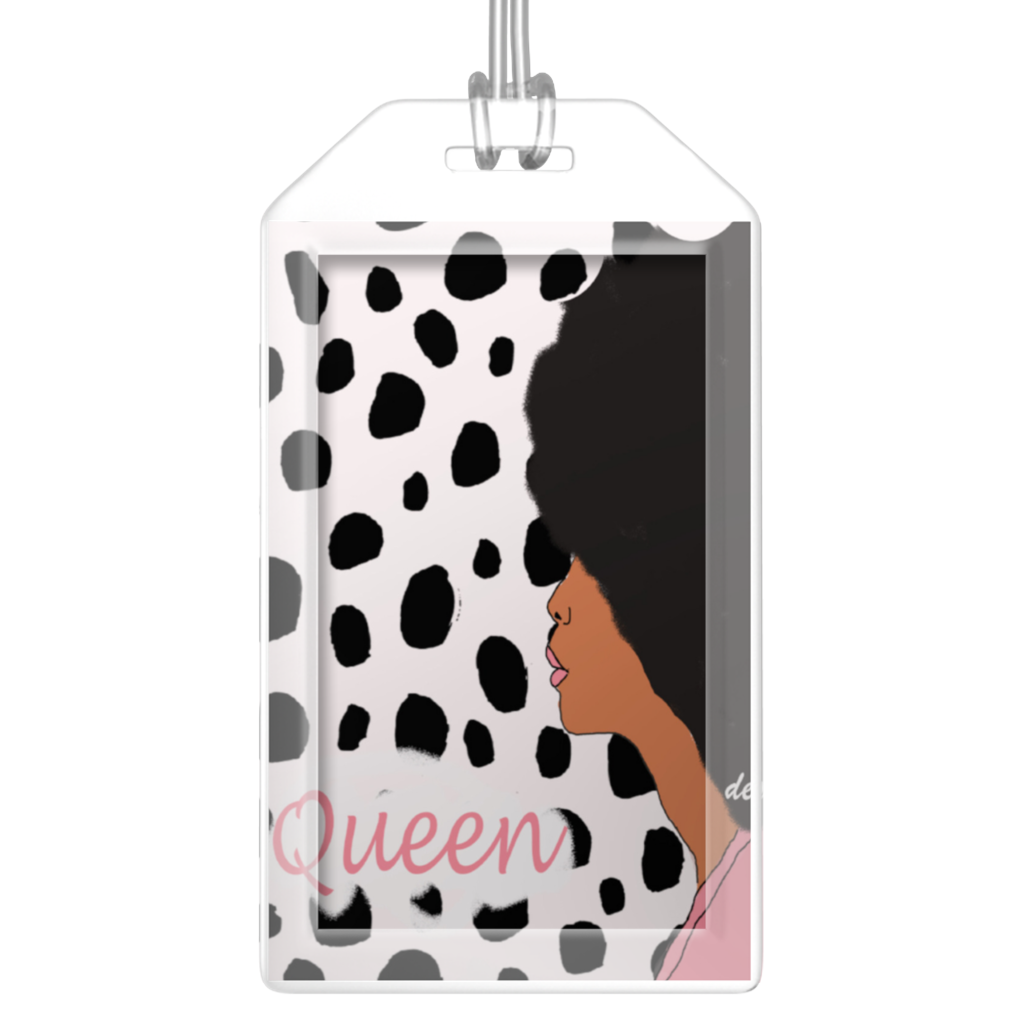 Leopard Diva Luggage Tag