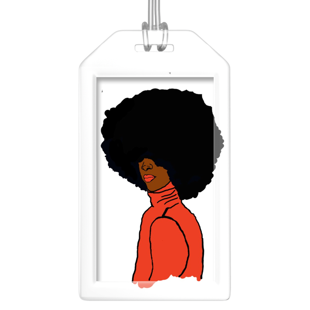 Cheeky Diva Luggage Tag