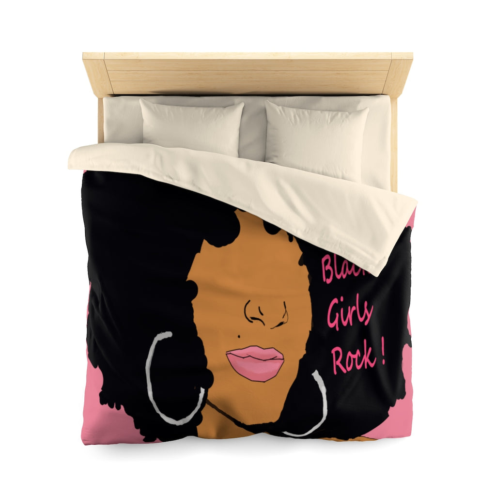 Bllack Girls Rock Duvet Cover
