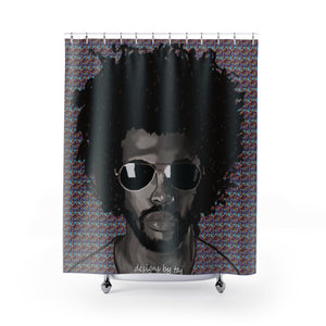 Psychedelic Brother Shower Curtains