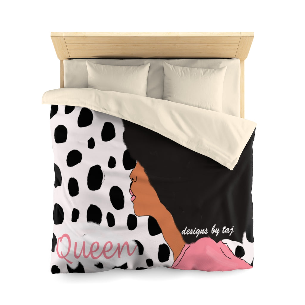 Leopard Queen Diva Duvet Cover