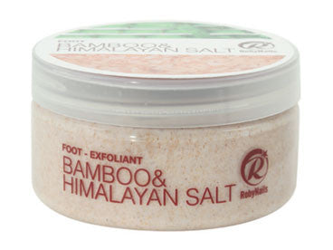 Foot Exfoliant - Bamboo & Himalayan Salt