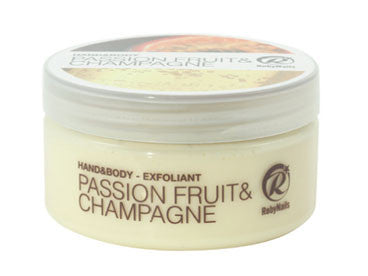 Hand and Body Exfoliant - Passion Fruit & Champagne