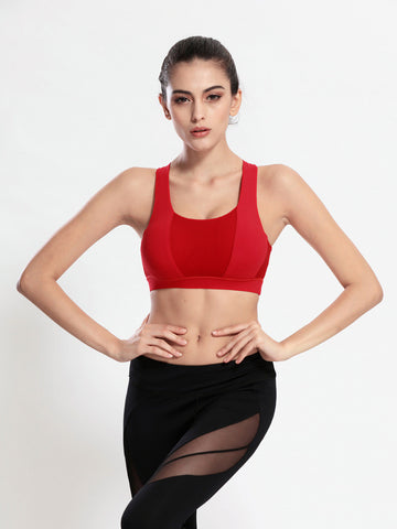 Newest Breathable X Back Sports Bra - Women