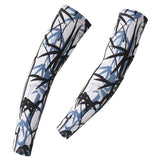 XINTOWN Black Bamboo Cycling Arm Warmers - enjoy-outdoor-sport