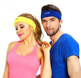 POMAN Unisex Soft Stretch Fitness Headband