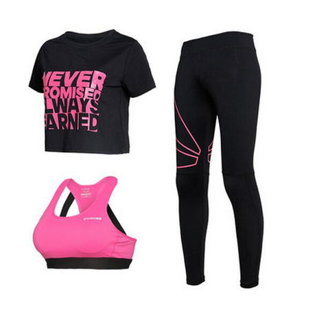 High-Tech Fabric Activewear Sports Suit - Women's