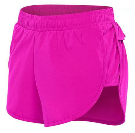 Breathable Second-Skin Fitness shorts DG - Women's