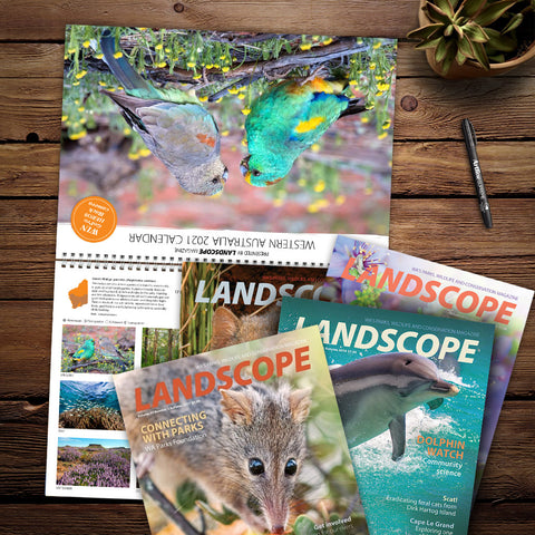 LANDSCOPE Subscription plus 2021 Calendar package