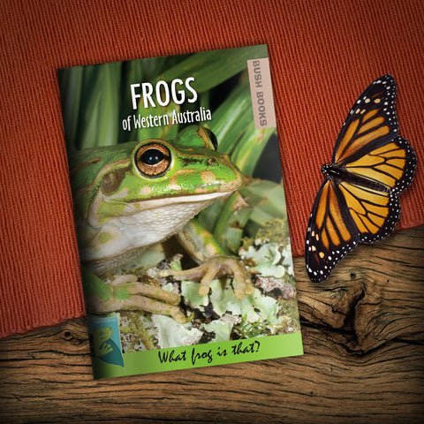 Frogs of Western Australia Bush Book