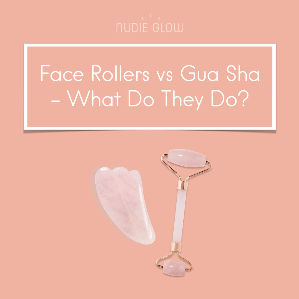 Facial Roller VS. Gua Sha - What's the Difference?