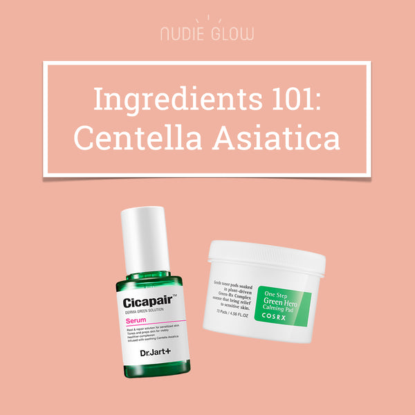 Ingredients 101: Centella Asiatica