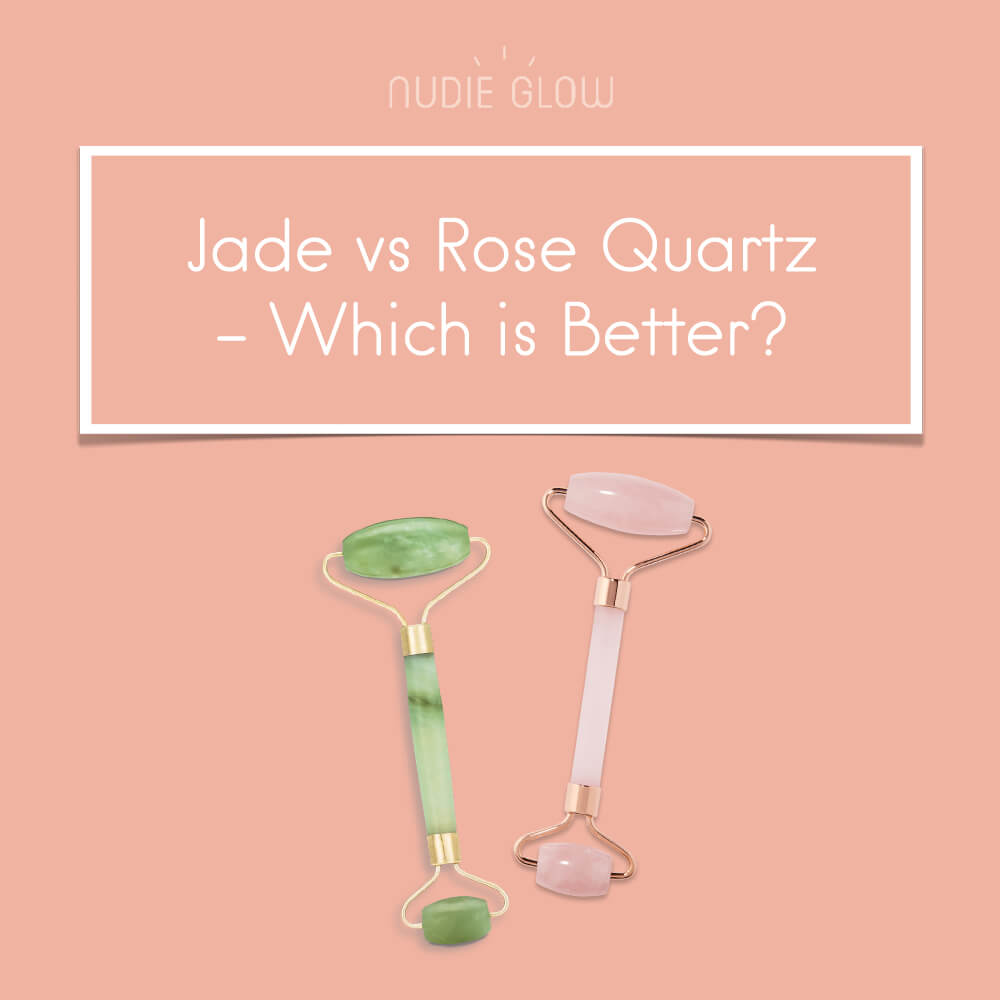 Jade VS Rose Quartz Roller - What's the Difference?