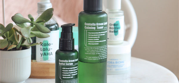 REVIEW: Purito's Best-Selling Centella Green Level Toner & Buffet Serum