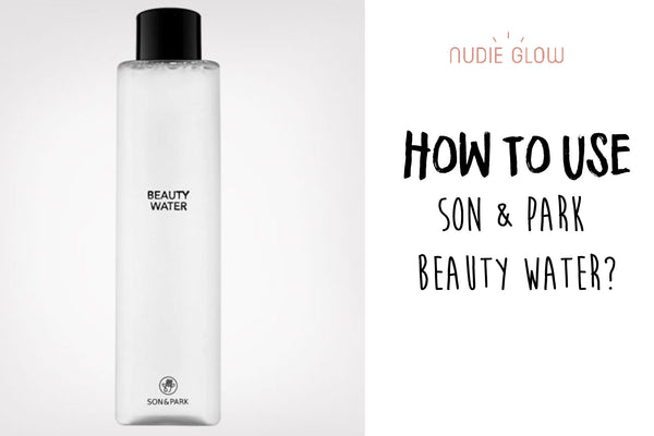 5 Different Ways to Use Son & Park Beauty Water