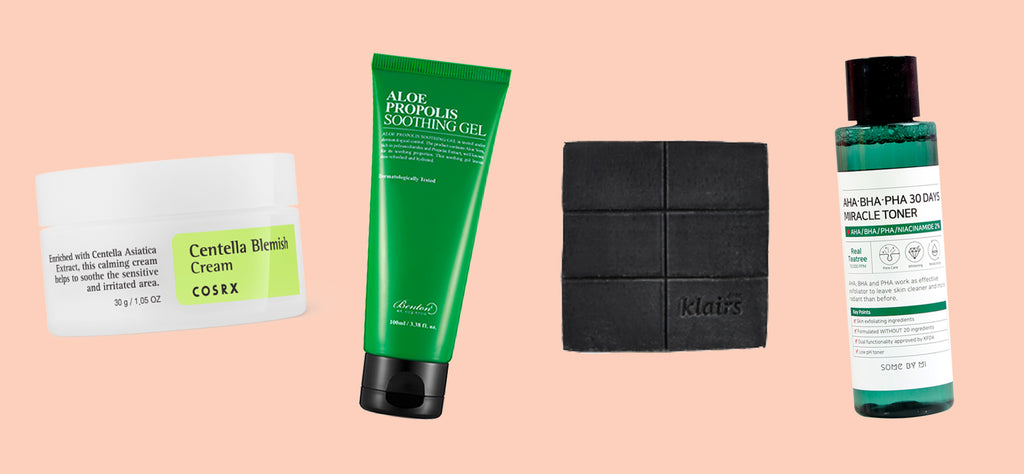 10 Best Korean Skin Care Products For Acne That Actually Works Nudie Glow
