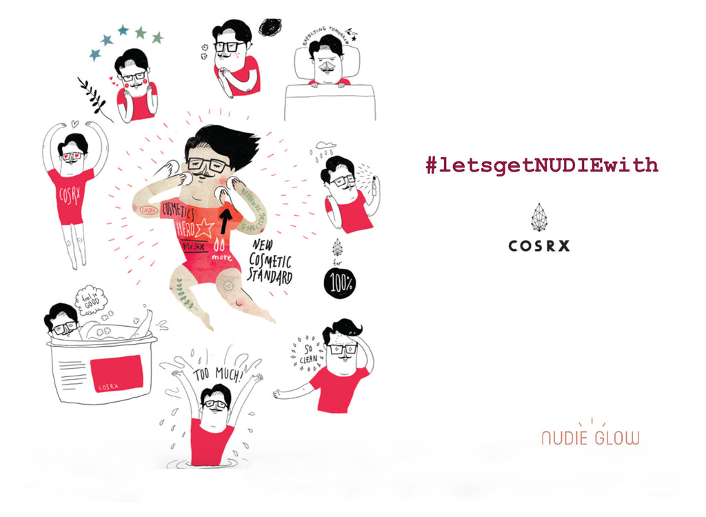 #letsgetNUDIEwithCOSRX