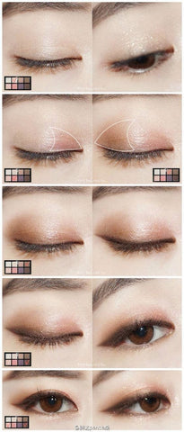 Korean Makeup Inspiration Nudie Glow Australia