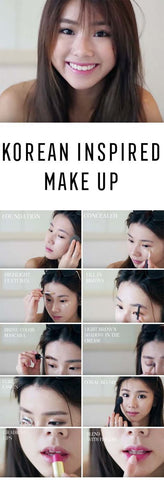 Korean Makeup Tutorial Inspiration Nudie Glow Australia