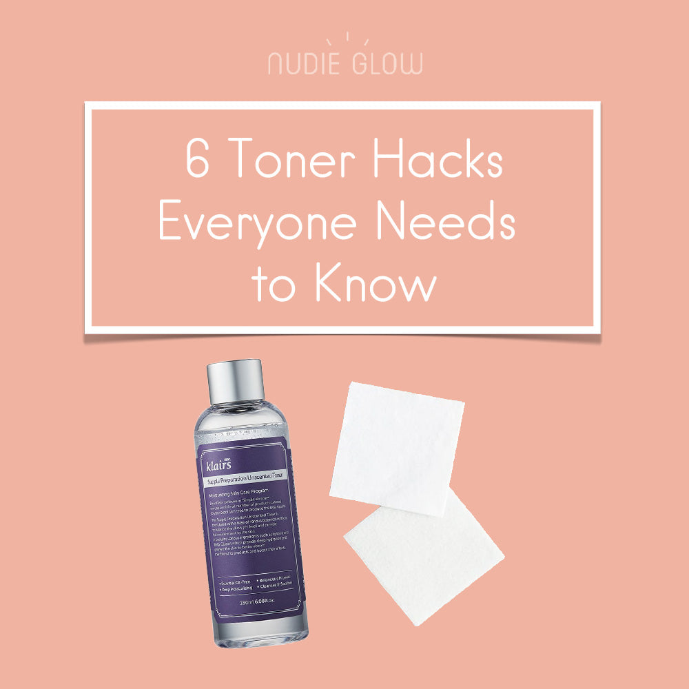 6 Toner Hacks DIY Skincare Nudie Glow Best Korean Beauty Australia