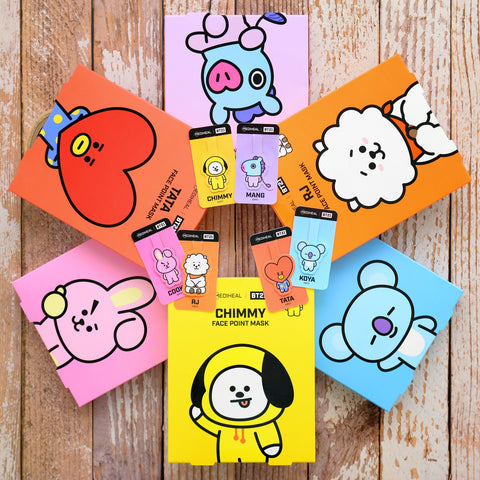 BT21 Mask Mediheal BTS Nudie Glow Korean Skin Care Australia