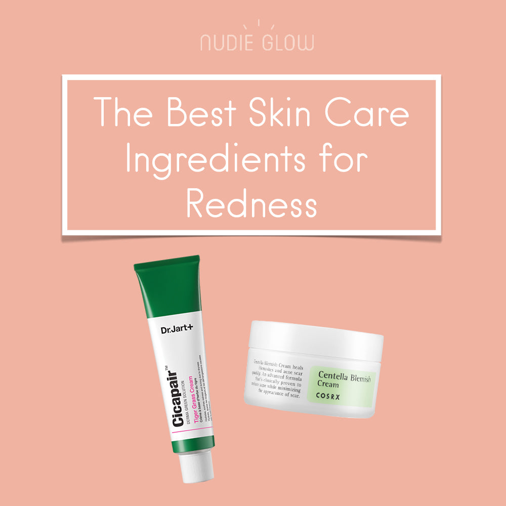 Best Skin Care Ingredients and Products for Redness at Nudie Glow Korean Beauty Store Australia