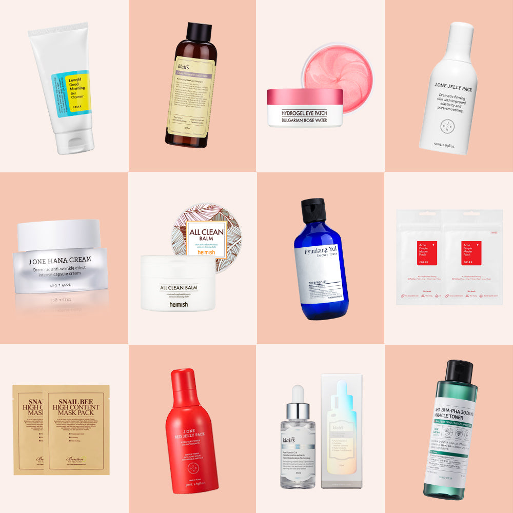 Best of Nudie Glow 2018 Korean Beauty and Skin Care Australia