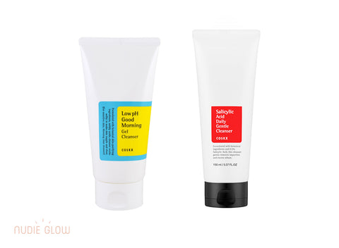COSRX Cleanser Collection at Nudie Glow Best Korean Beauty Store Australia
