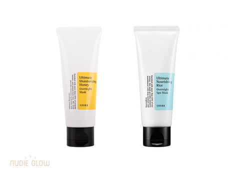 COSRX Overnight Mask Collection at Nudie Glow Best Korean Beauty Store Australia