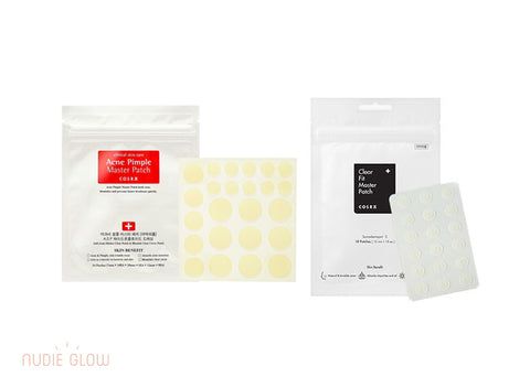 COSRX Acne Pimple Patches Collection at Nudie Glow Best Korean Beauty Store Australia