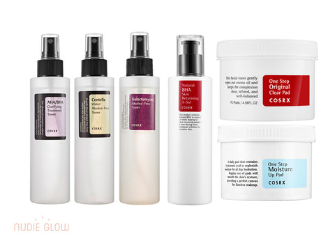 COSRX Toner Collection at Nudie Glow Best Korean Beauty Store Australia