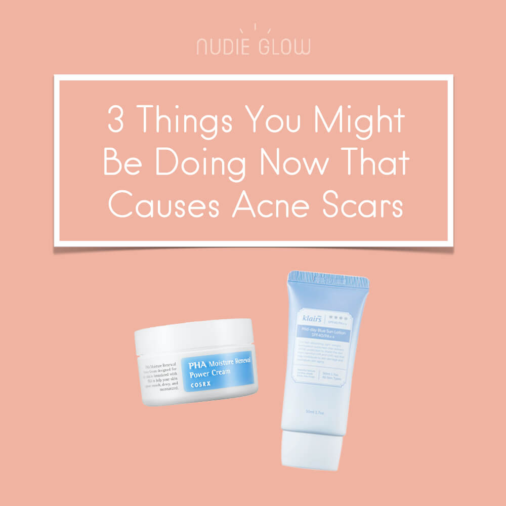 Cause of Acne Scars Nudie Blog Korean Beauty Australia