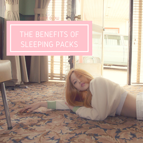 nudie glow korean beauty australia the benefit of sleeping packs