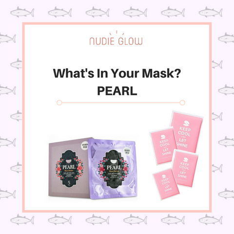 nudie glow korean beauty australia benefits of pearl in sheet mask