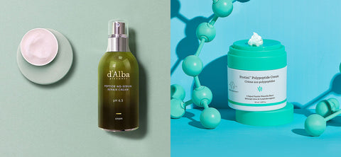 D'Alba Piedmont Peptide No-Sebum Repair Cream Dupe Drunk Elephant Protini Polypeptide Nudie Glow Korean Skin Care Australia