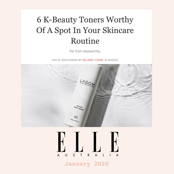 6 K-Beauty Toners Worthy Of A Spot In Your Skincare Routine Elle Australia Nudie Glow
